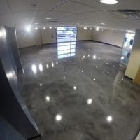 Decorative Showroom Floor Coating