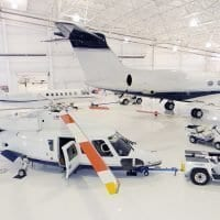 Grand Rapids Airplane Hangar Coating