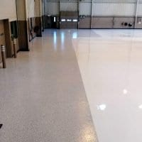 V-8 Airplane Hangar Floor Coating