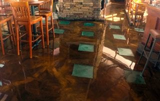Grand Rapids Platinum Floor Coating Application - Restaurant