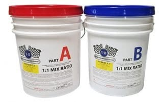 V-8 Hybrid XT Resinous Floor Coating