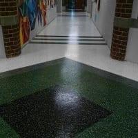 Seamless School Hallway Floor Coating
