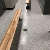 Easy to Clean Locker Room Flooring