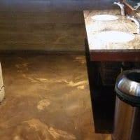 Decorative Bathroom Floor Coating