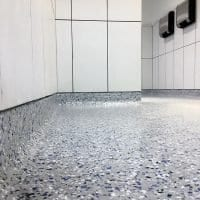 Seamless Cove Floor Coating Installation