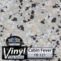 Cabin Fever FB-127 Vinyl Chip Blend