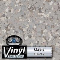 Oasis FB-712 Vinyl Chip Blend