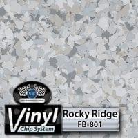 Rocky Ridge FB-801 Vinyl Chip Blend
