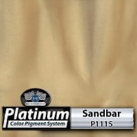 Sandbar P1115 Platinum Color Pigment
