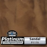 Sandal P1170 Platinum Color Pigment