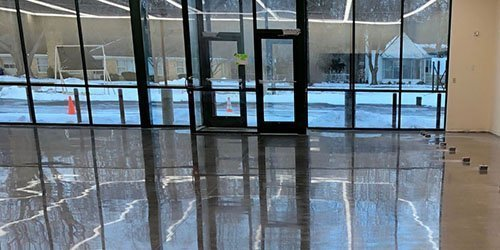 Grand Rapids Retail Store Polished Concrete