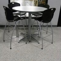 Grand Rapids one day install factpry flooring