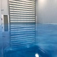 Platinum Metallic Epoxy Flooring