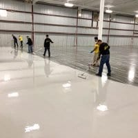 West Michigan Industrial Epoxy Coating Installation