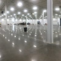Capable of Large Polished Concrete Projects and Jobs