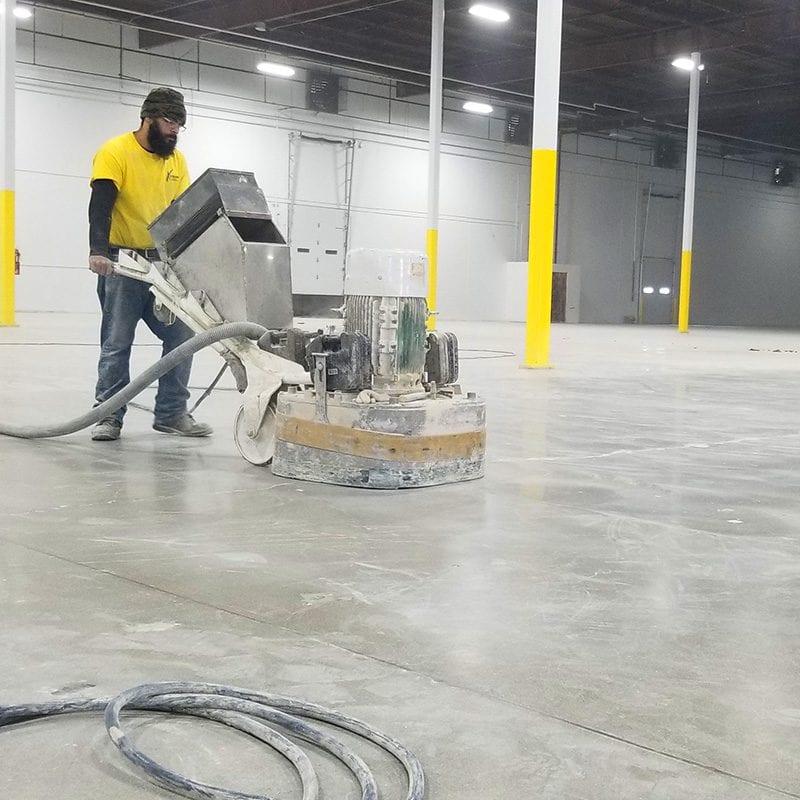 Prep/Master 3030 concrete polishing