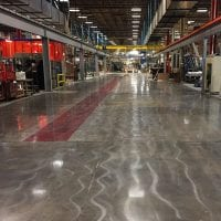 Metal Shake Factory Polished Concrete
