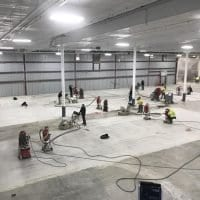 Surface preparation for epoxy coating