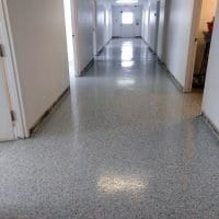 Seamless Hallway Floor Coating