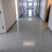 Seamless Hallway Floor Coating