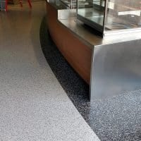 West Michigan floor coating border