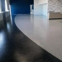 Grand Rapids cafeteria floor coating