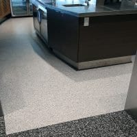 Ada cafeteria floor coating