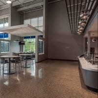 Grand Rapids manufacturing facility polished concrete