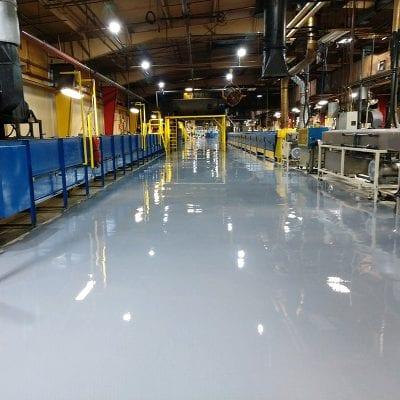 West Michigan Industrial Epoxy Floor Coating Contractors