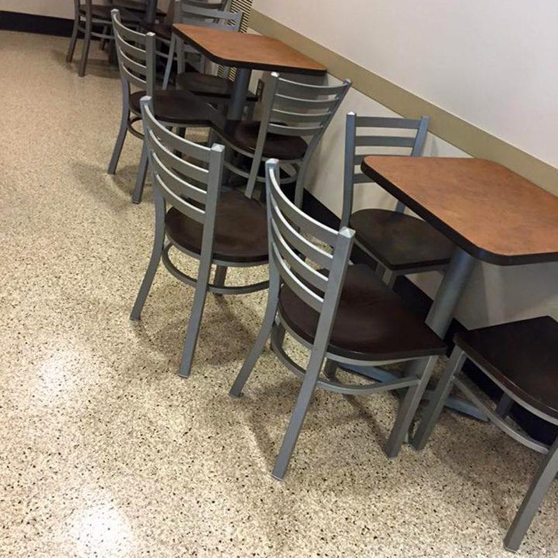 Floor coating installation in Grand Rapids