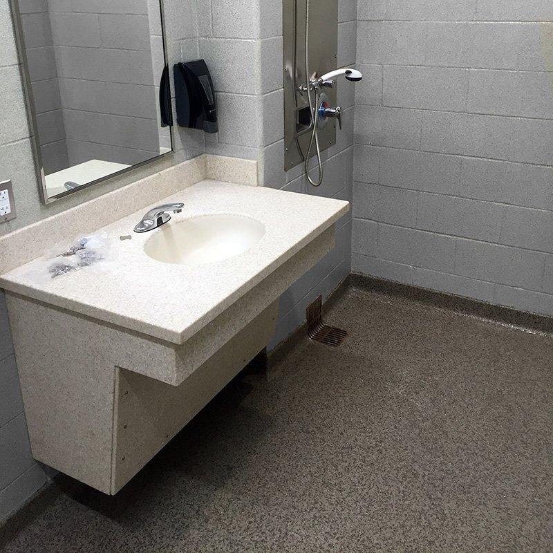 Grand Rapids seamless floor