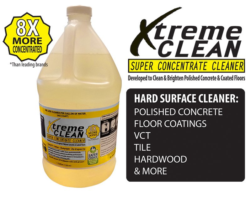 Epoxy Coating, Polished Concrete, VCT Cleaner