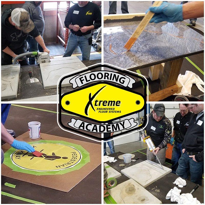 Floor Coating and Polishing Training