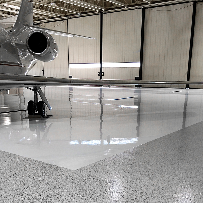 Airplane Hangar Coating