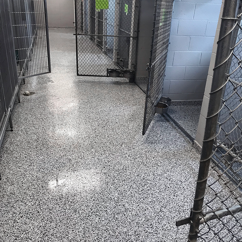 Dog Kennel Flooring