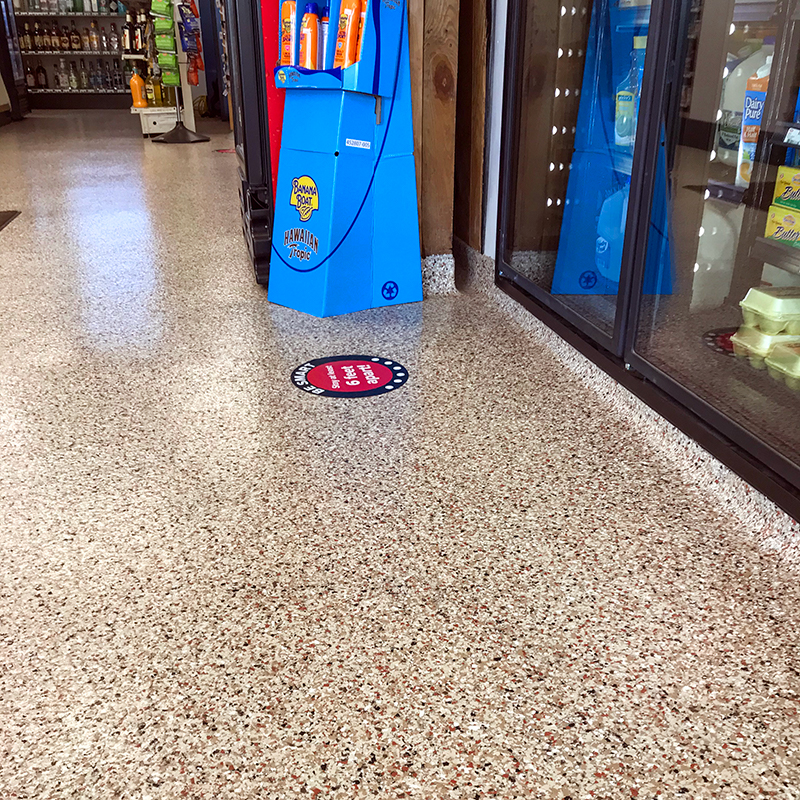 Saugatuck Gas Station Flooring