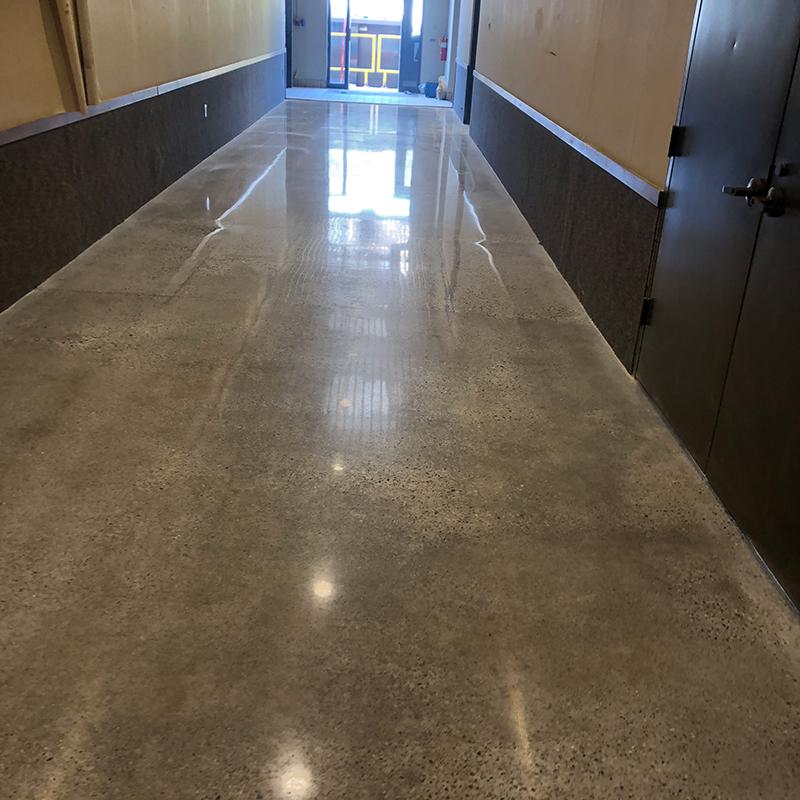 Muskegon Polished Concrete