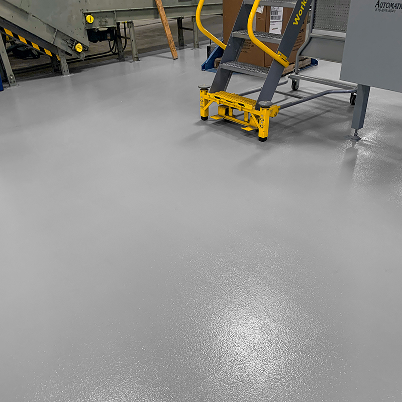 Industrial Epoxy Flooring - Medium Gray